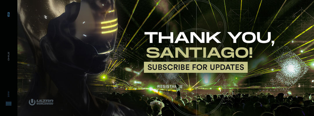 Subscribe for Updates to RESISTANCE Santiago