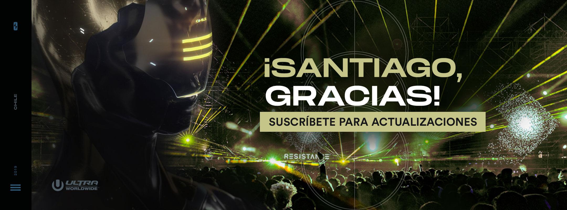 Recibe actualizaciones de RESISTANCE Santiago